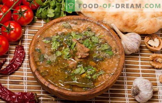Kharcho en casa - ¡No solo los georgianos cocinan! Recetas de kharcho casero con pollo, cerdo, cordero