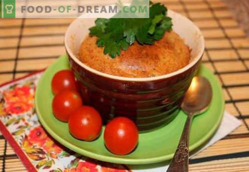 Un souffle de hígado es la mejor receta. Cómo cocinar rápido y sabroso el soufflé del hígado.