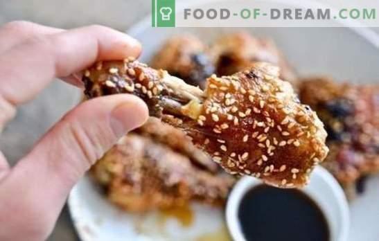 Pollo de jengibre: recetas sencillas para comidas nutritivas. ¿Cómo cocinar pollo con jengibre, miel, salsa de soja, naranjas?