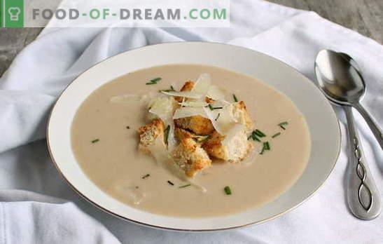 El puré de frijoles es una guarnición original para toda la familia. Cómo cocinar una deliciosa sopa de puré de frijoles: recetas probadas