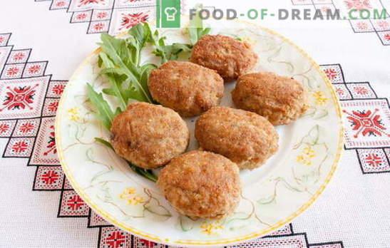 Chuletas con pan, ¡que siempre sean exuberantes! Recetas de albóndigas con carne picada, pollo, varias carnes y verduras