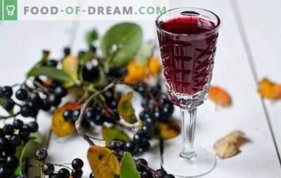 ¡El vino hecho de chokeberry en casa es una bebida única! Recetas de cocina de vino aromático de chokeberry en casa