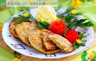 Buñuelos de calabacín con queso y ajo son pasteles útiles. Las mejores recetas para los buñuelos de calabacín con queso y ajo