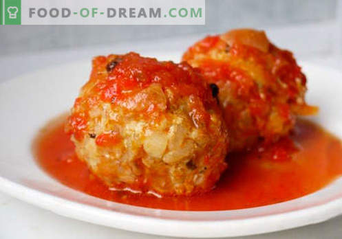 Albóndigas picadas - recetas probadas. Cómo preparar adecuadamente y sabrosas albóndigas cocidas a partir de carne picada.
