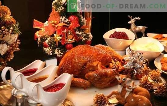 Navidad ganso - el plato principal de la víspera de Navidad! Recetas de ganso navideño con manzanas, naranjas, papas, trigo sarraceno