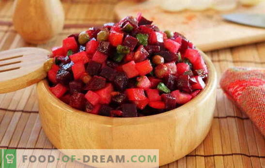 Vegetal de vinagreta - ¡come vitaminas! Recetas de vinagretas de verduras: alubias, manzanas, champiñones, repollo