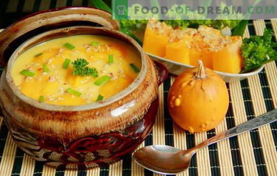 Sorprende a todos con sopa de calabaza hecha en casa: ¡rápido y sabroso! Recetas europeas para sopas de calabaza, rápidas y sabrosas, sanas y nutritivas