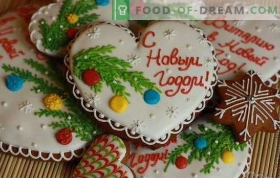 Pan de jengibre navideño: decoración, souvenirs y ¡simplemente delicioso! Recetas tradicionales y elegantes para pan de jengibre de Navidad