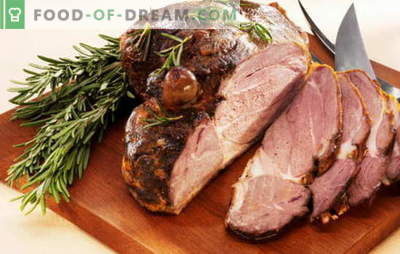 Carne al horno por una pieza - las seis mejores recetas. Recetas para carne al horno en papel de aluminio, manga, masa, en una olla de cocción lenta