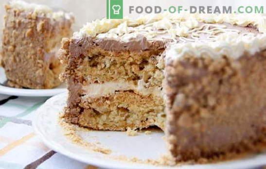 Pastel de Kiev en casa - ¡lujo permitido! Recetas simplificadas de diferentes pasteles caseros de Kiev