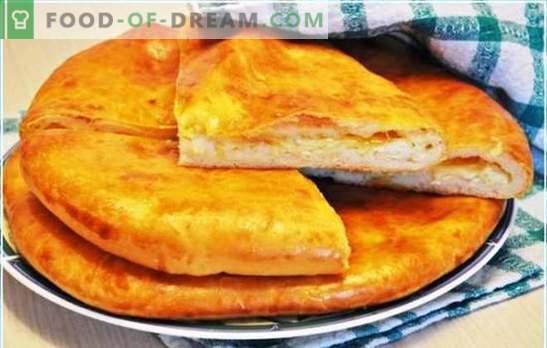 Megrelian Khachapuri - ¡con queso doble es más delicioso! Las mejores recetas de los famosos khachapuri megrelianos