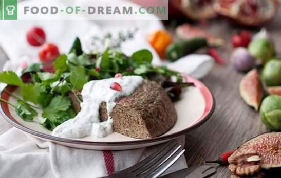 Soufflé de hígado de pollo - plato dietético? Soufflé de hígado de pollo cocido al horno y al horno