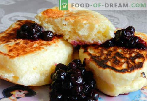 Lush cheesecakes - las mejores recetas. Cómo cocinar de forma rápida y sabrosa los exuberantes pasteles de queso.