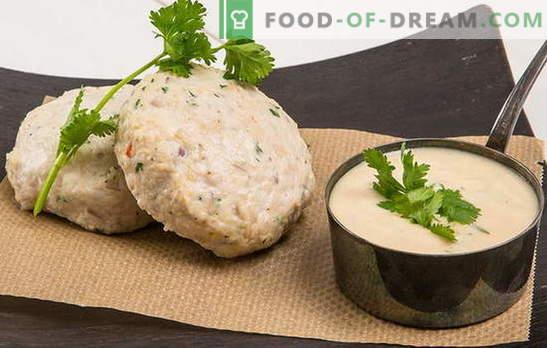 Chuletas al vapor - dietética y práctica! Cómo cocinar empanadas al vapor con pollo, carne, verduras, cereales y champiñones
