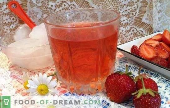 Compota de fresa - recetas para la mesa y para el invierno. Con menta y vainilla, con cereza y naranja: las mejores compotas de fresa
