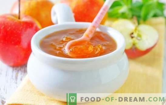 Jalea de manzana para el invierno - ¡Dulzura ámbar! Recetas de diferentes gelatinas de manzanas para el invierno: con gelatina y sin espesantes