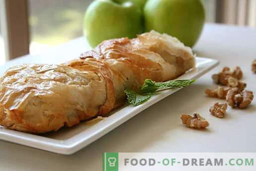 Strudel vienés - las mejores recetas. Cómo cocinar correctamente y sabroso el strudel vienés.