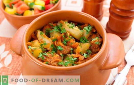 Asado en ollas con carne y papas: ¿es esta la primera o la segunda? Recetas asadas caseras con carne y papas para un almuerzo abundante