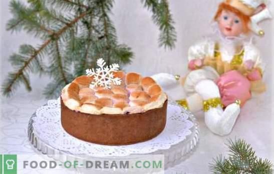 Pastel con malvaviscos es un tratamiento delicado. Cómo hornear un pastel con crema o soufflé de malvaviscos, cómo hacerlo sin hornear