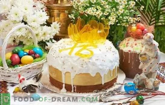 La torta de Pascua sin levadura es una alternativa al horneado de levadura. Cómo hornear deliciosos pasteles sin levadura en el kéfir o en la masa fermentada en la víspera de Pascua