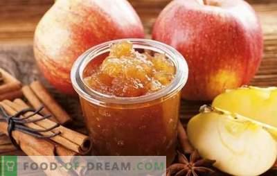 Mermelada casera de manzana para el invierno: ¡la preparación necesaria! Recetas para diferentes mermeladas de manzanas en casa
