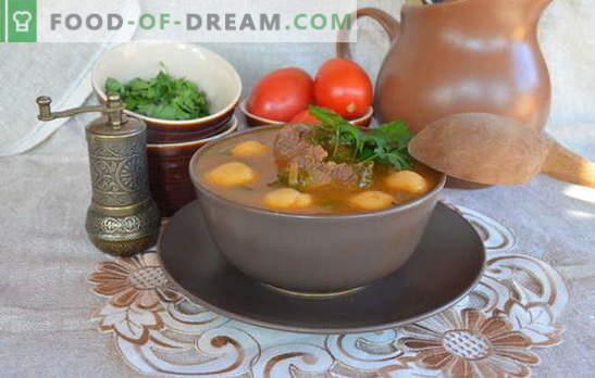 Las sopas armenias son obras maestras entre los primeros platos. Recetas de sopas armenias con verduras, lentejas, frijoles, yogur, albóndigas