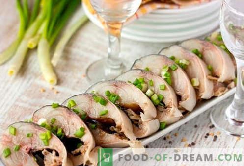 Bocadillos festivos: receta con fotos y descripción paso a paso