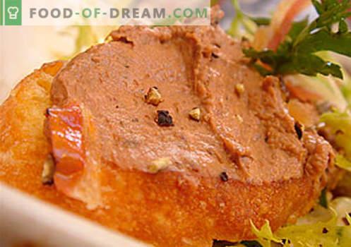Paté de ganso - las mejores recetas. Cómo cocinar correctamente y sabroso paté de ganso.