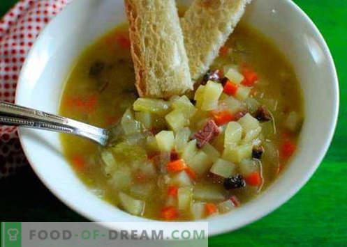 Pickle en una olla de cocción lenta - las mejores recetas. Cómo cocinar apropiadamente y de forma sabrosa la salmuera en una olla de cocción lenta.