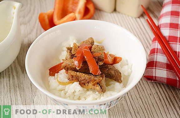 ¿Cómo cocinar carne en tailandés en casa? Mucho más fácil de lo que parece