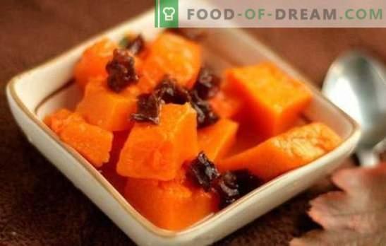 Calabaza con ciruelas: ¡un mar de sabor y beneficios! Recetas para platos de calabaza cocidos, fritos y al horno con ciruelas pasas
