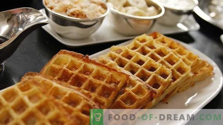Gofres belgas: cómo cocinar de forma rápida y sabrosa en casa