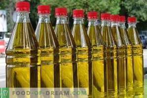 Cómo almacenar aceite de girasol