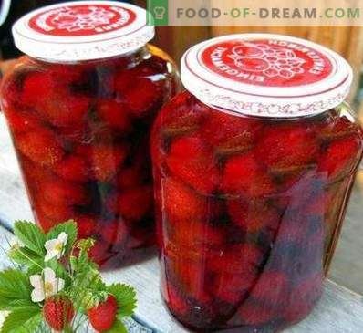 Strawberry jam without cooking