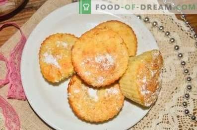 Cupcakes con manzanas y canela