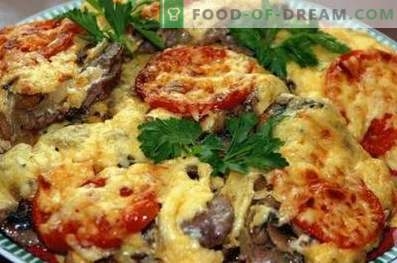French Meat with Mushrooms
