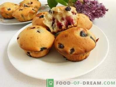¿Cuál es la diferencia entre muffins y muffins