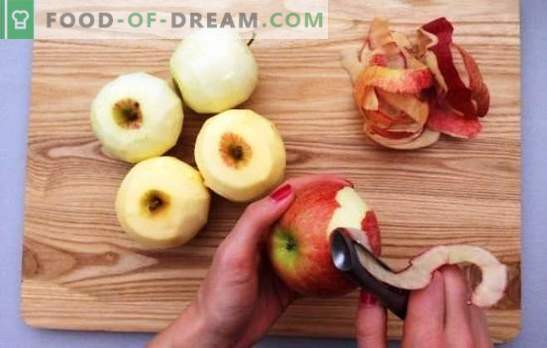 Manzanas congeladas: diferentes formas de congelar frutas jugosas. Cómo congelar manzanas durante todo el invierno, en rodajas, en forma de puré de papas