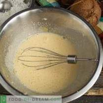 Pastel de coco alemán